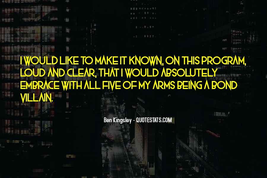 Best Bond Villain Quotes #1785864