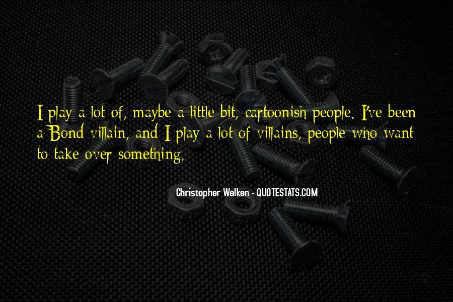 Best Bond Villain Quotes #894404