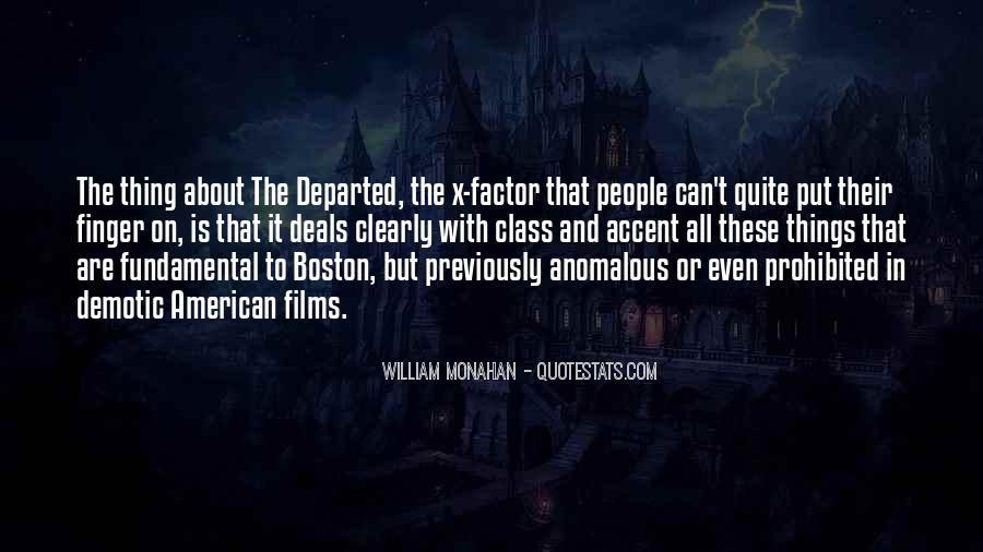 Best Boston Accent Quotes #797586