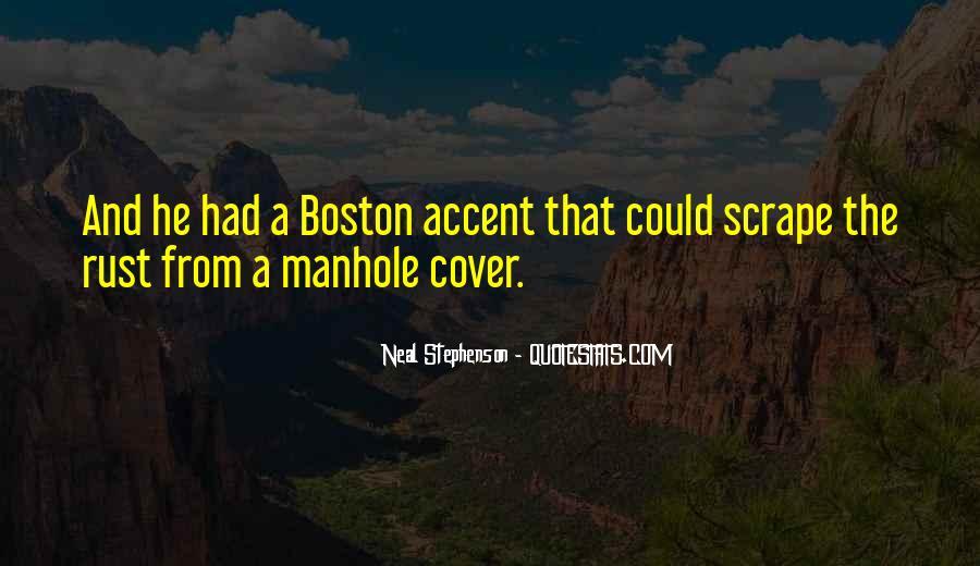 Best Boston Accent Quotes #835471