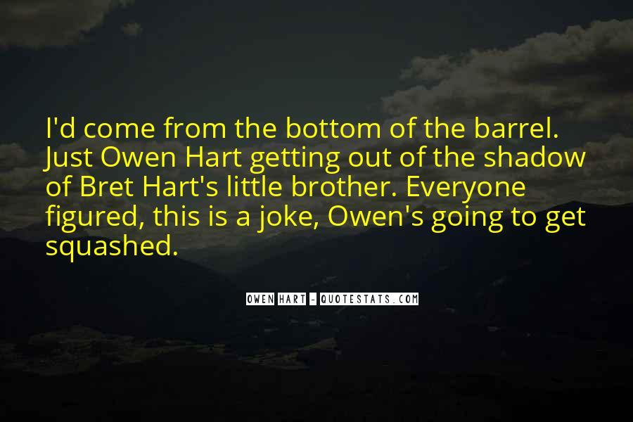 Best Bret Hart Quotes #1109637