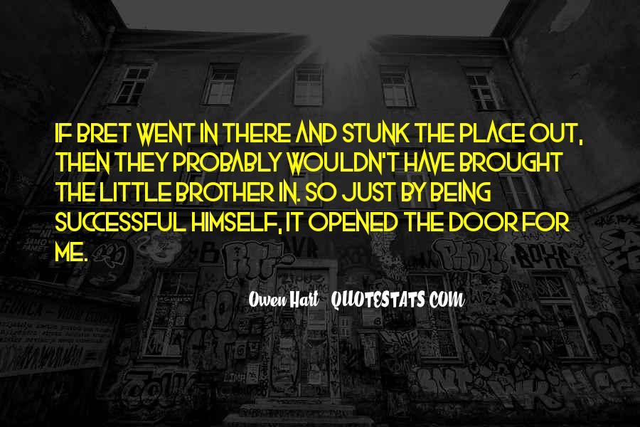 Best Bret Hart Quotes #1366089