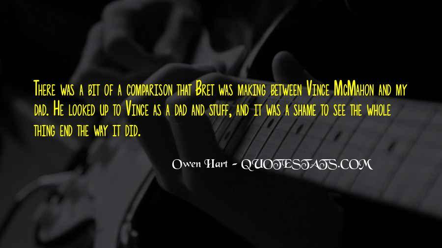 Best Bret Hart Quotes #379743