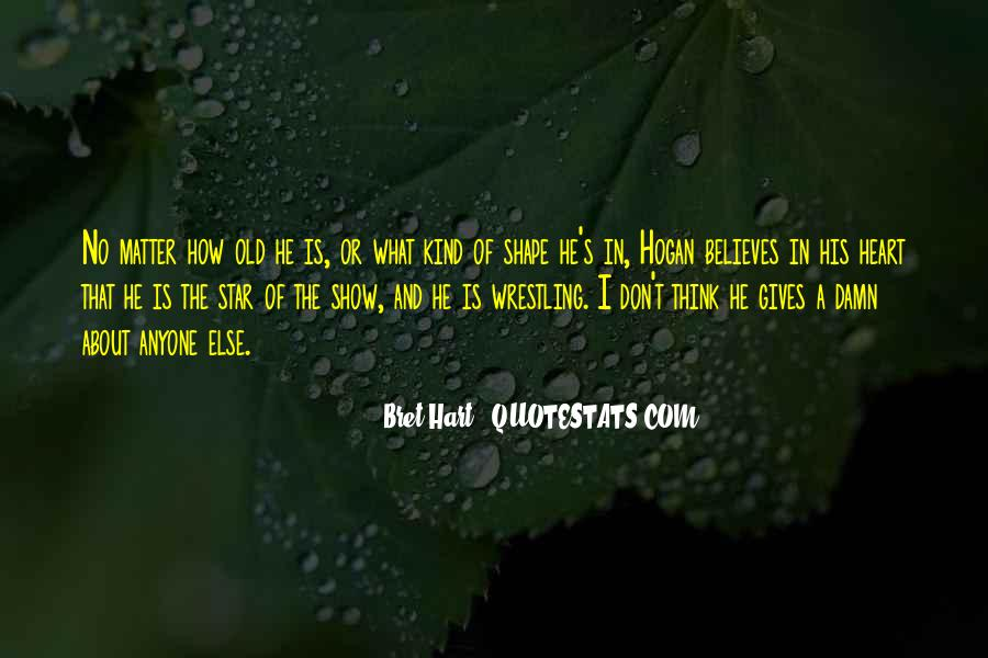 Best Bret Hart Quotes #526853