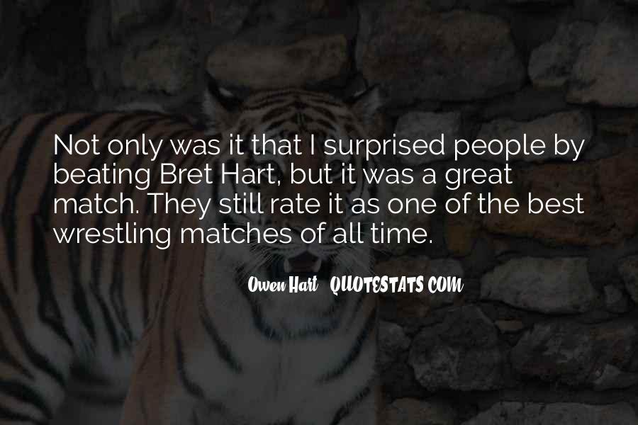 Best Bret Hart Quotes #546666