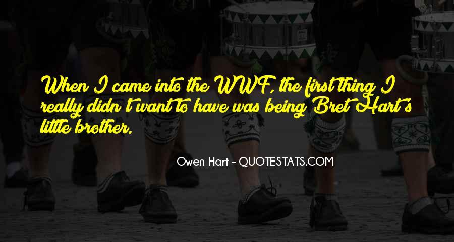 Best Bret Hart Quotes #83163
