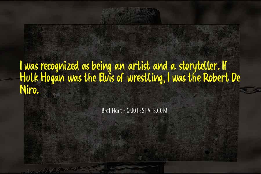 Best Bret Hart Quotes #925245