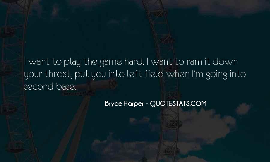 Best Bryce Harper Quotes #980469