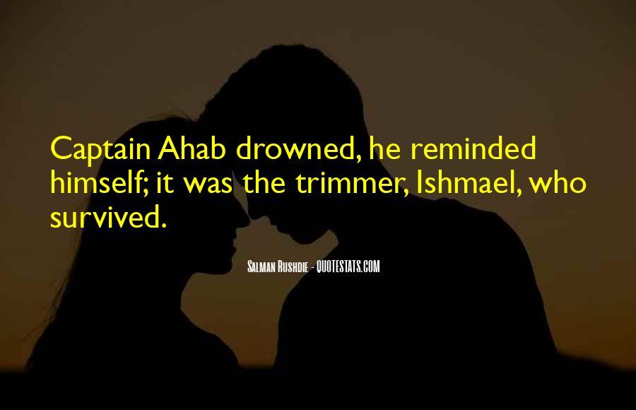 Best Captain Ahab Quotes #1259260