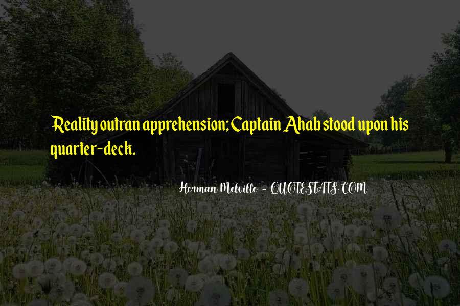 Best Captain Ahab Quotes #1725536