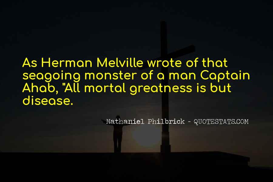 Best Captain Ahab Quotes #280462