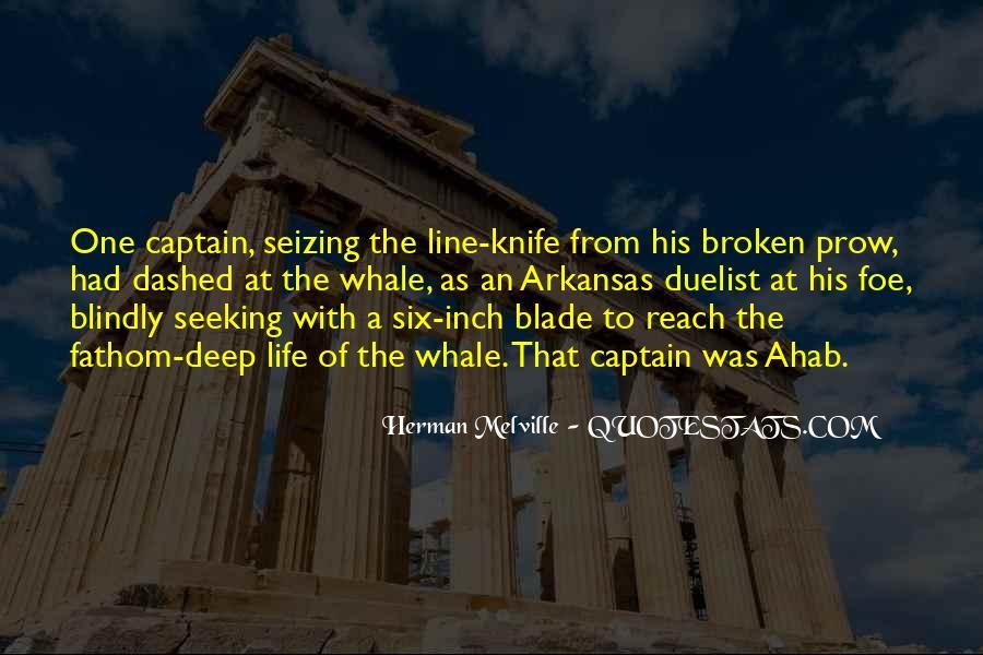Best Captain Ahab Quotes #641864