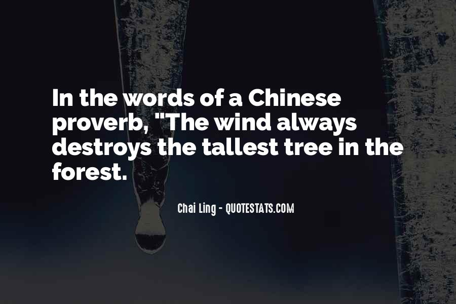 Best Chinese Proverb Quotes #139842