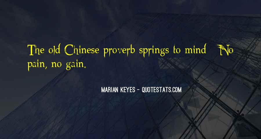 Best Chinese Proverb Quotes #26245