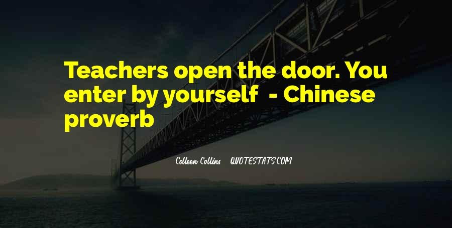 Best Chinese Proverb Quotes #426197