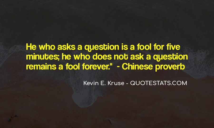 Best Chinese Proverb Quotes #550389