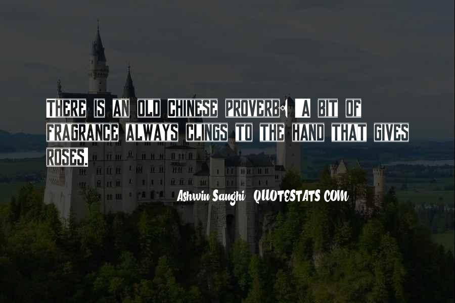 Best Chinese Proverb Quotes #902862
