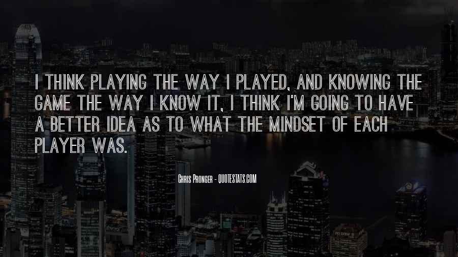 Best Chris Pronger Quotes #1344282