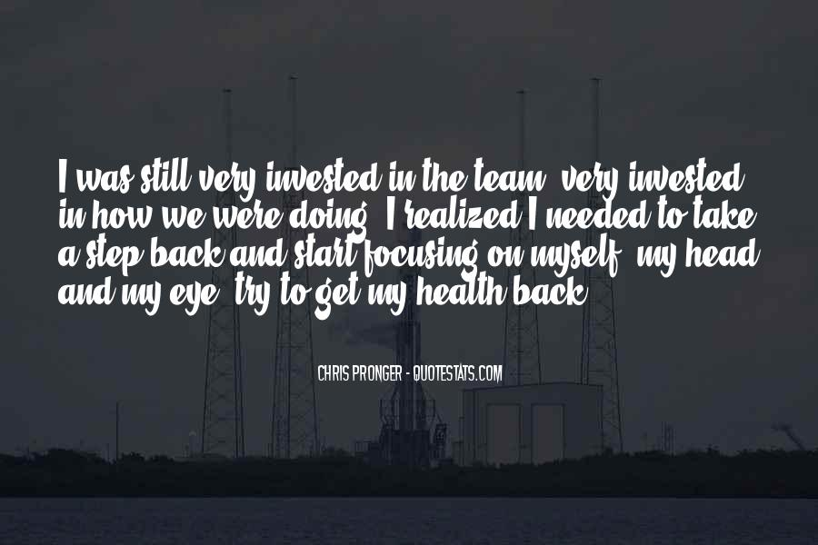 Best Chris Pronger Quotes #1506544