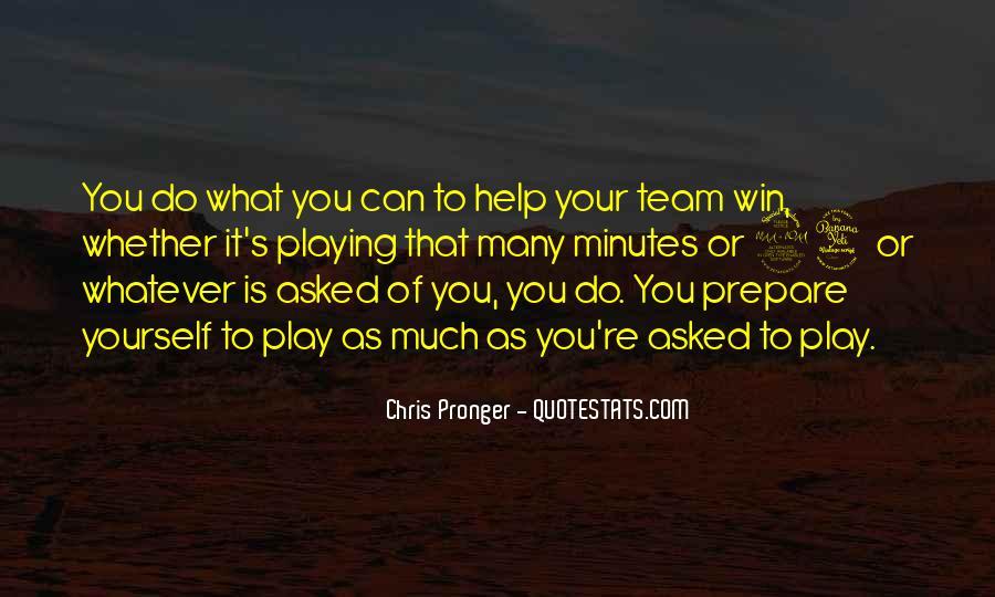 Best Chris Pronger Quotes #1659885