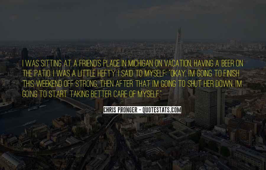 Best Chris Pronger Quotes #317851