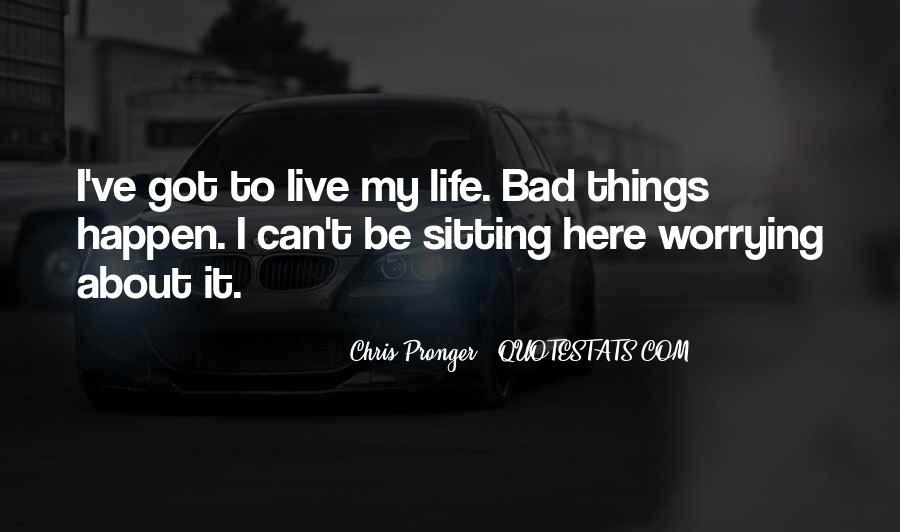 Best Chris Pronger Quotes #360036