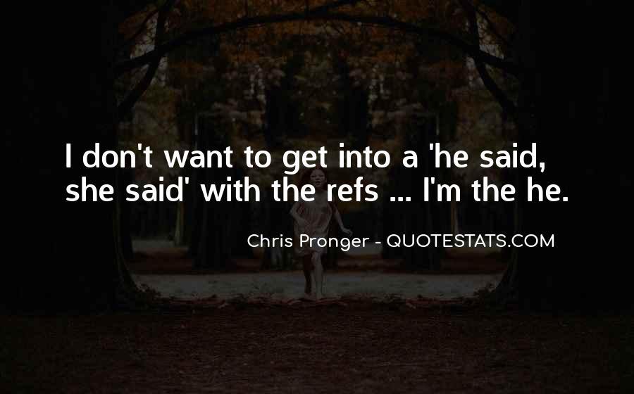 Best Chris Pronger Quotes #696482