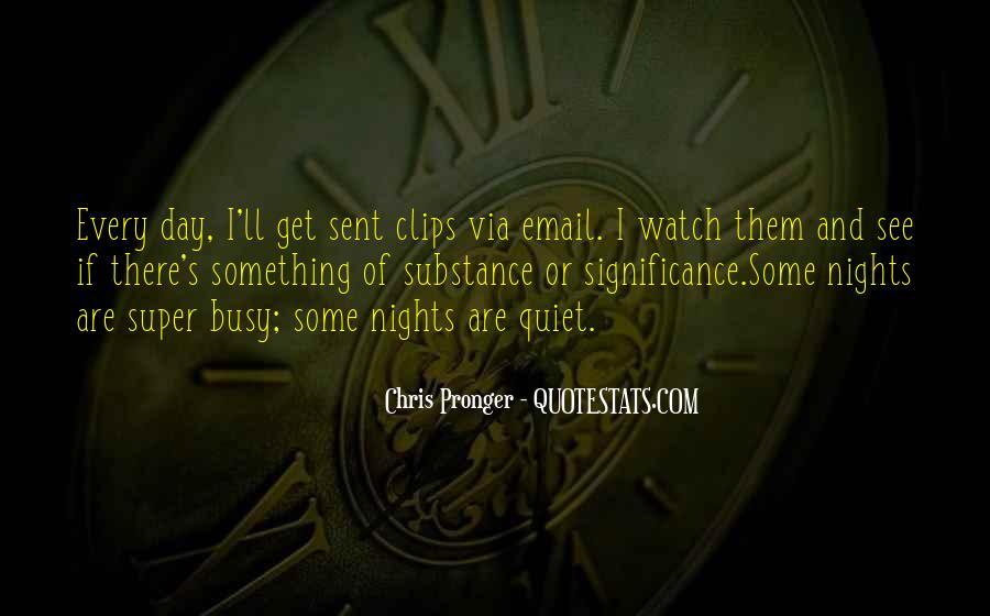 Best Chris Pronger Quotes #738957