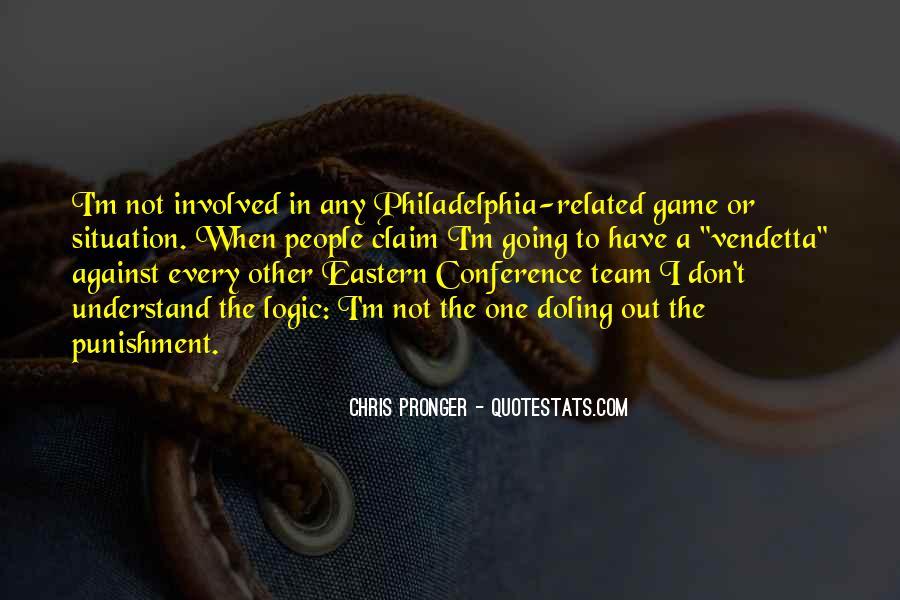 Best Chris Pronger Quotes #959841