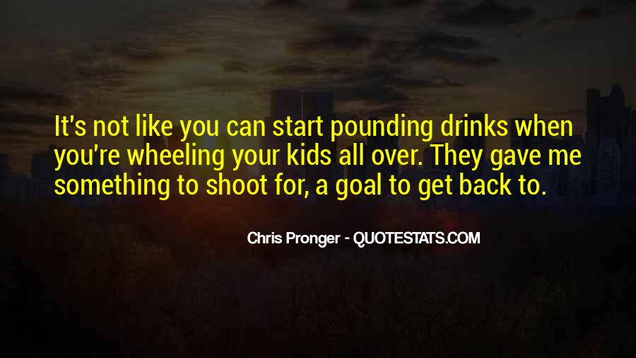 Best Chris Pronger Quotes #993143