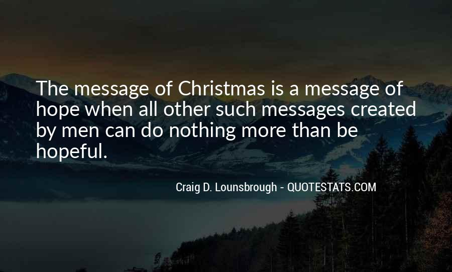Best Christmas Messages Quotes #222985