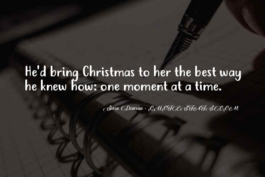 Best Christmas Present Quotes #1272489
