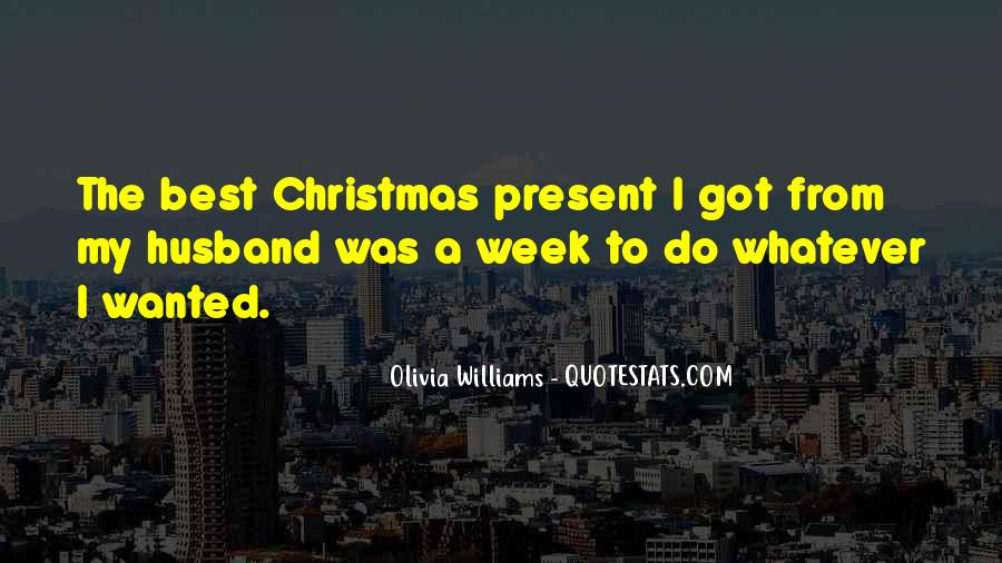 Best Christmas Present Quotes #169116