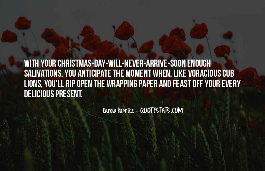 Best Christmas Present Quotes #99309