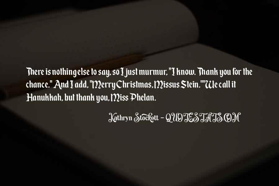Best Christmas Thank You Quotes #643681