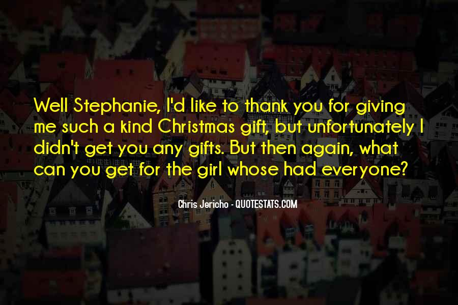 Best Christmas Thank You Quotes #943140