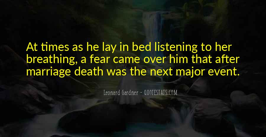 Quotes About Marriage After Death #1066817