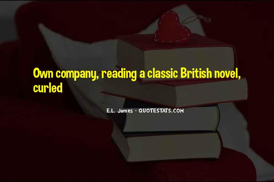 Best Classic Novel Quotes #1276341