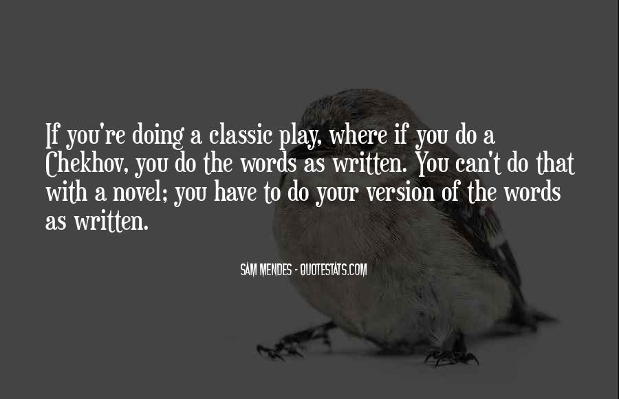 Best Classic Novel Quotes #1346460