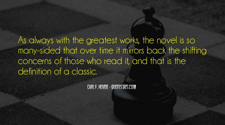 Best Classic Novel Quotes #1443925