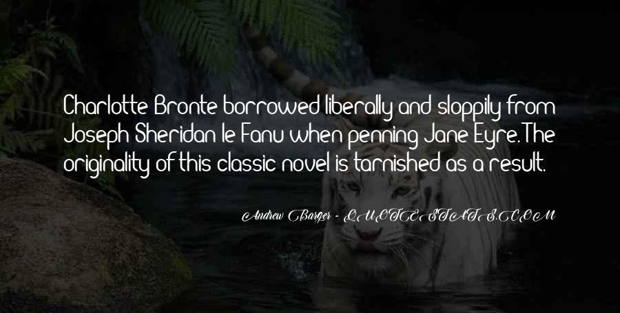 Best Classic Novel Quotes #293706