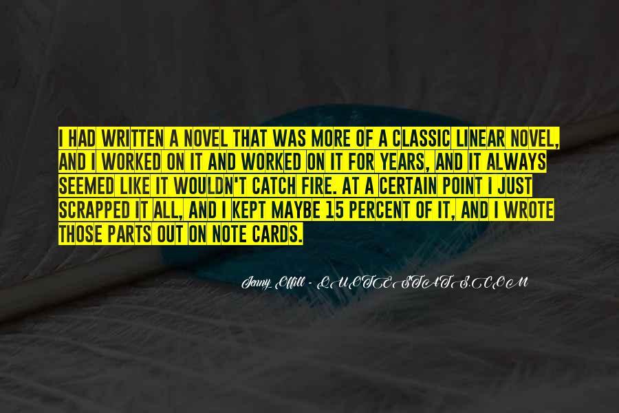 Best Classic Novel Quotes #36159