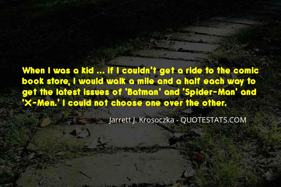 Best Comic Book Quotes #113405