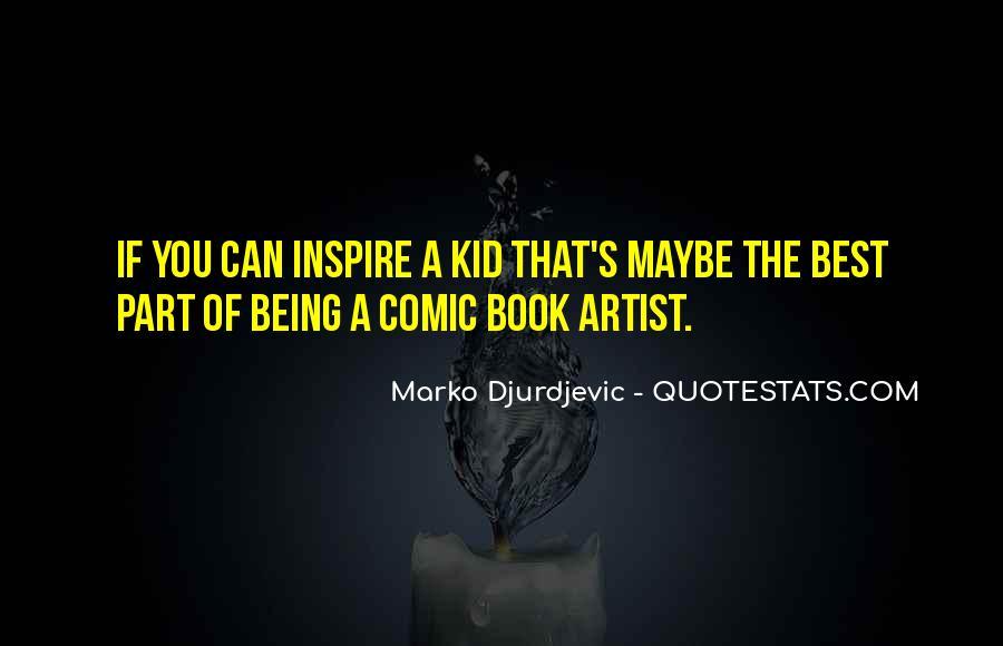 Best Comic Book Quotes #1473159
