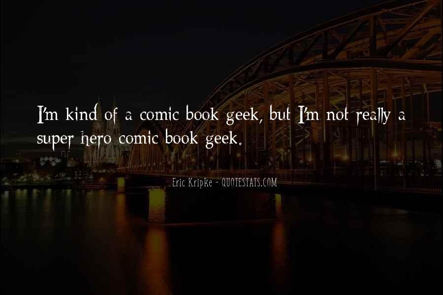 Best Comic Book Quotes #151498
