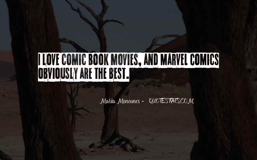 Best Comic Book Quotes #715288