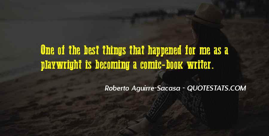 Best Comic Book Quotes #794759