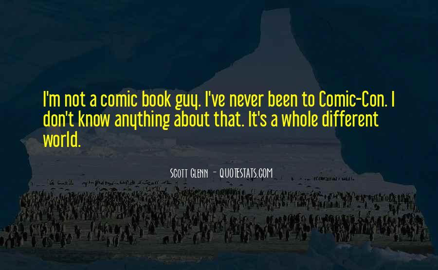 Best Comic Book Quotes #97941