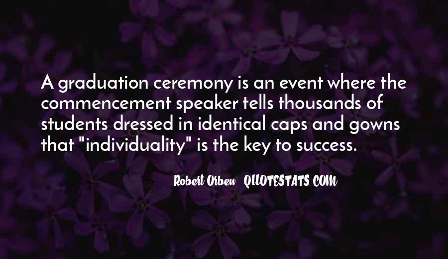 Best Commencement Quotes #254030
