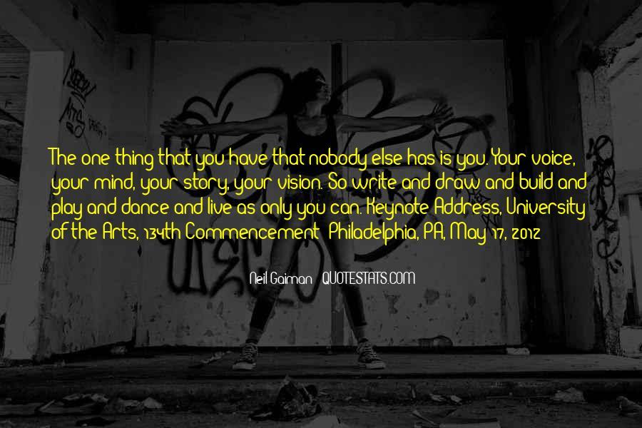 Best Commencement Quotes #668199
